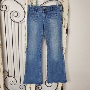 Abercrombie girl's flare jeans size 14